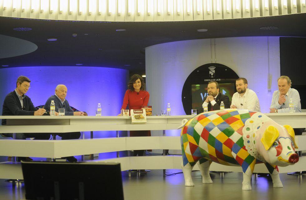 Vilariño, Rafael Cuíña, Nicolás González Casares y Lara Rodríguez hicieron balance de la Feira do Cocido