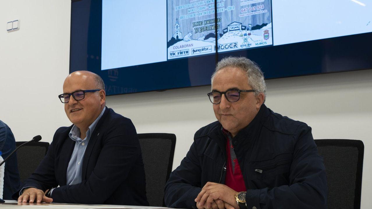Jose Manuel Baltar y Plácido Álvarez