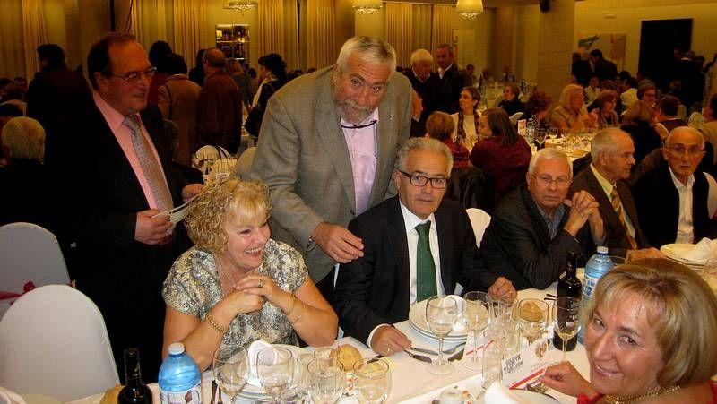 Alfredo Saborido participou no hospital na mesa informativa sobre a enfermidade renal.