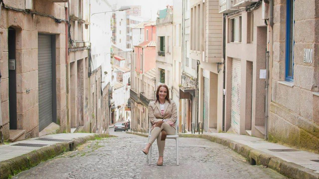 El Dioni, durante una visita a A Coruña en 1997, apenas dos años después de salir de la cárcel