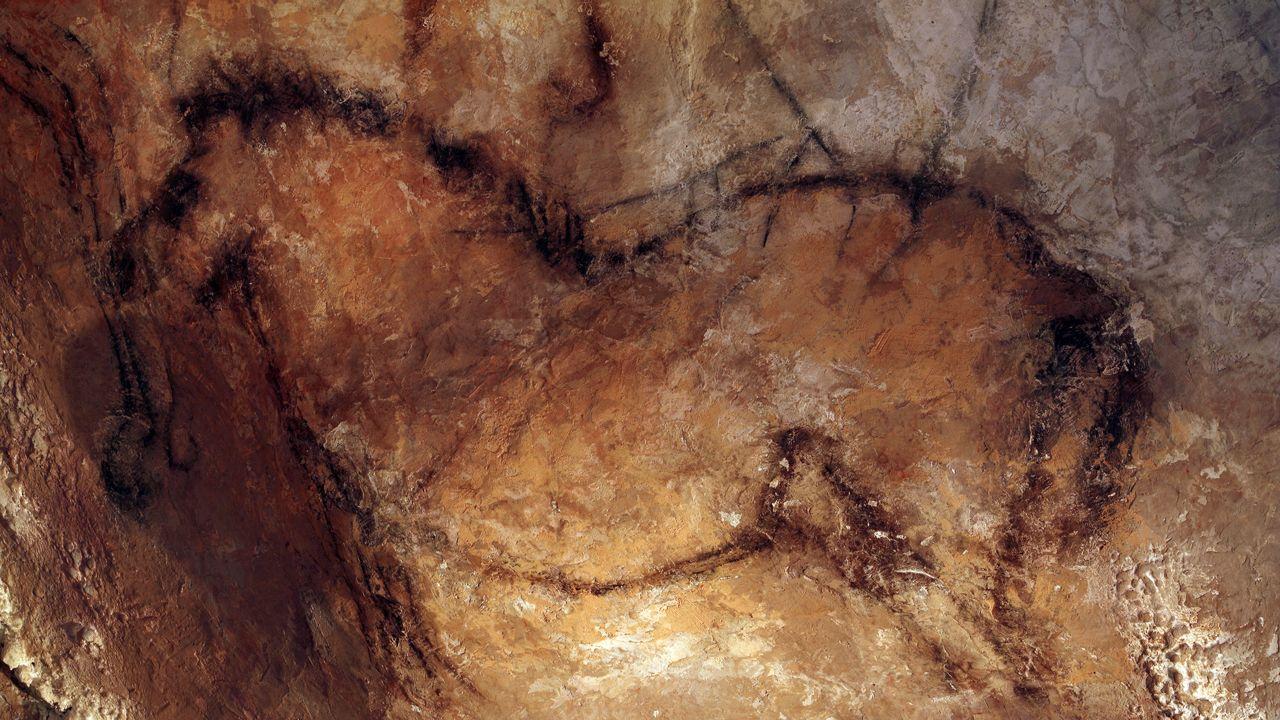 Caballo en Cueva La Peña