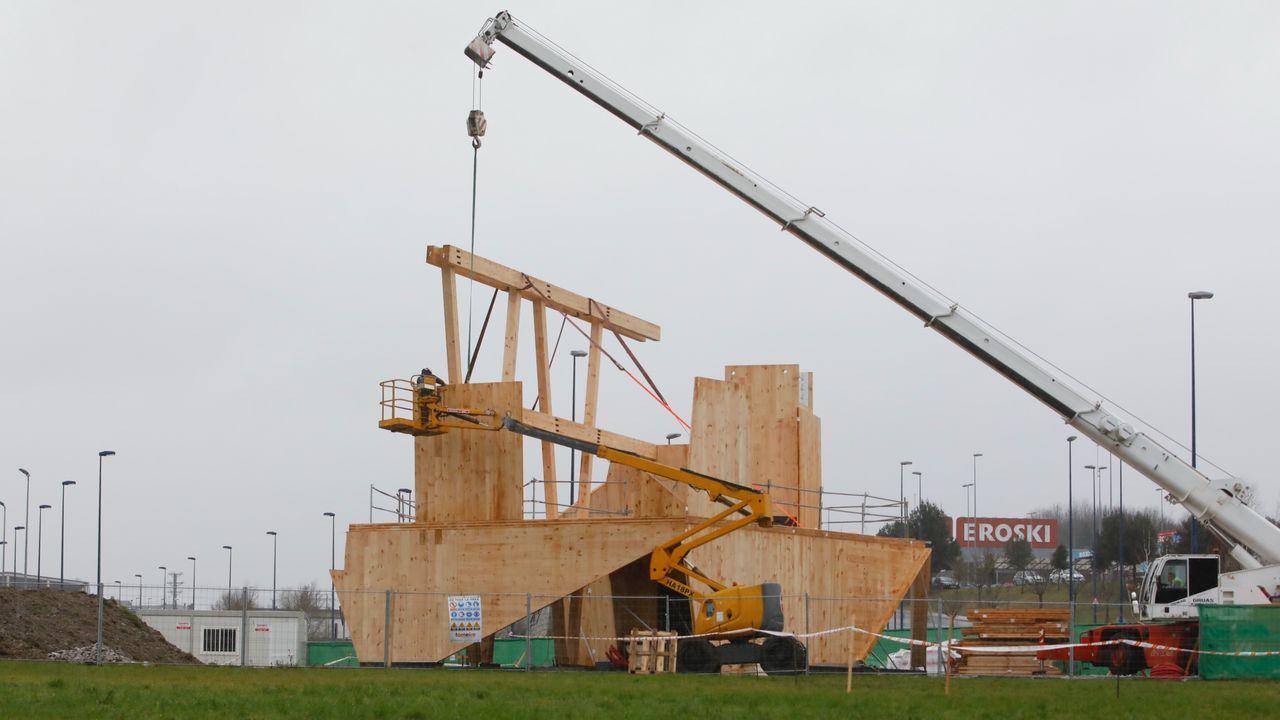 El edificio se levantará en uno de los principales accesos a Lugo
