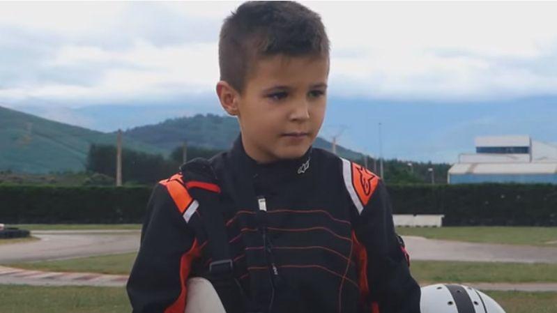 Cristian Ardines, la joven promesa asturiana del automovilismo.El piloto asturiano Fernando Alonso en el GP de Baku