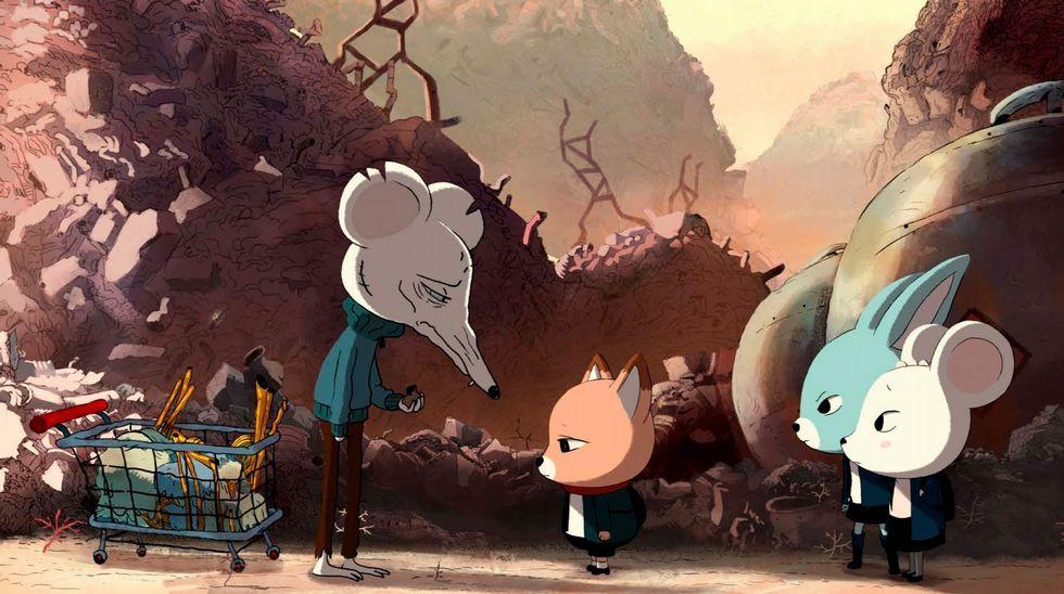 Largometraje de animación | Alberto Vázquez, por «Psiconautas»