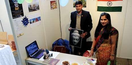Los estudiantes extranjeros de la USC mostraron algunas de las costumbres y tradiciones de sus países.