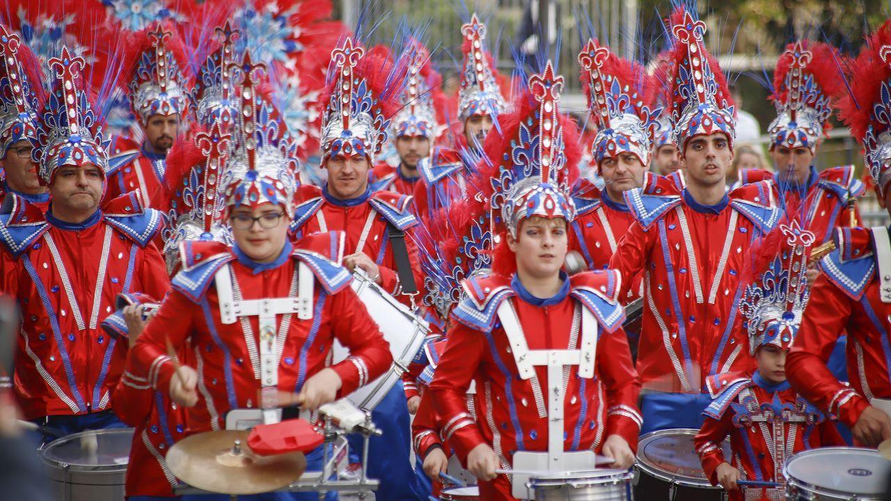 ¡Mira aquí las imágenes del lunes de carnaval en Barbanza!