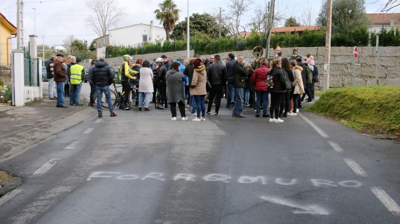 Una de las protestas llevadas a cabo por los vecinos en la zona