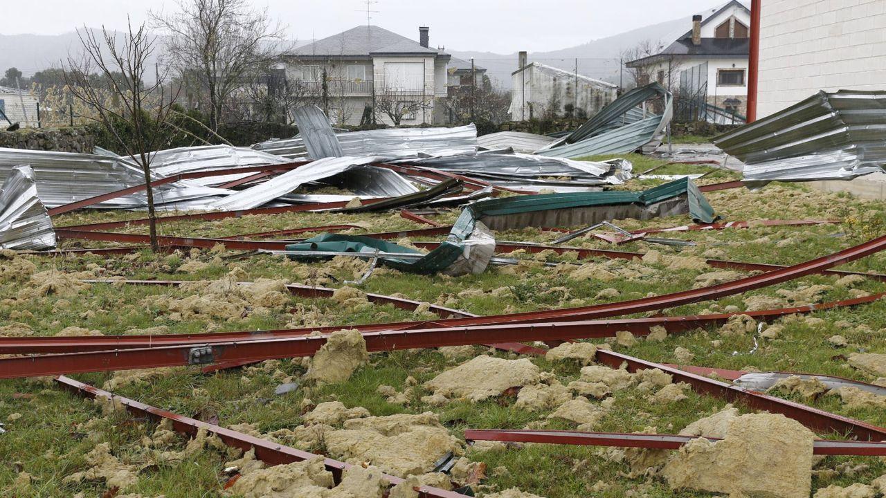 Daños provocados por los temporales en diciembre del 2019