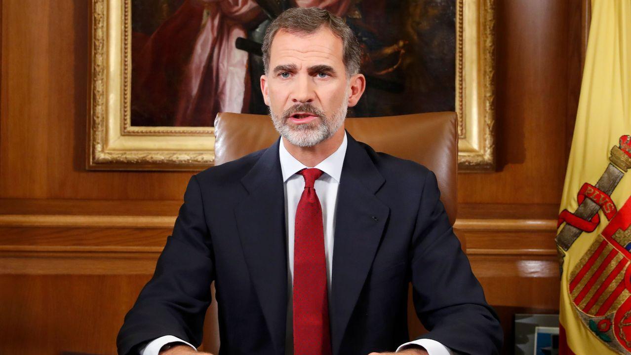 El discurso íntegro del Rey sobre Cataluña