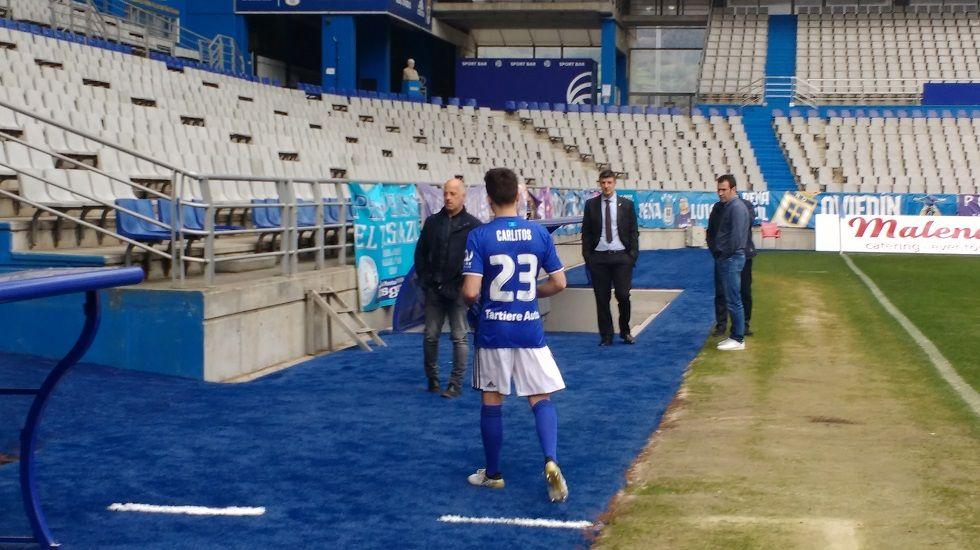«Carlitos» lucirá el dorsal 23