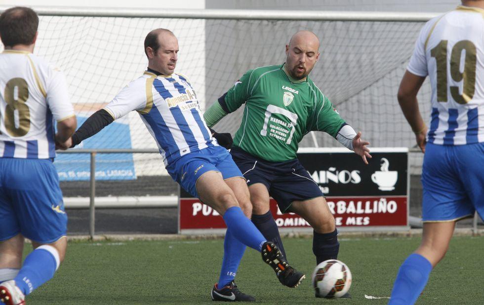 El conjunto del Sporting Bértoa derrotó por la mínima al Baio en un encuentro muy abierto.