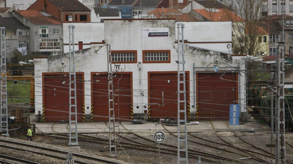 8M en Vigo.Corte en la AP-7