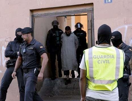 Operación realizada en mayo en Melilla, donde se desarticuló una red de captación de yihadistas.