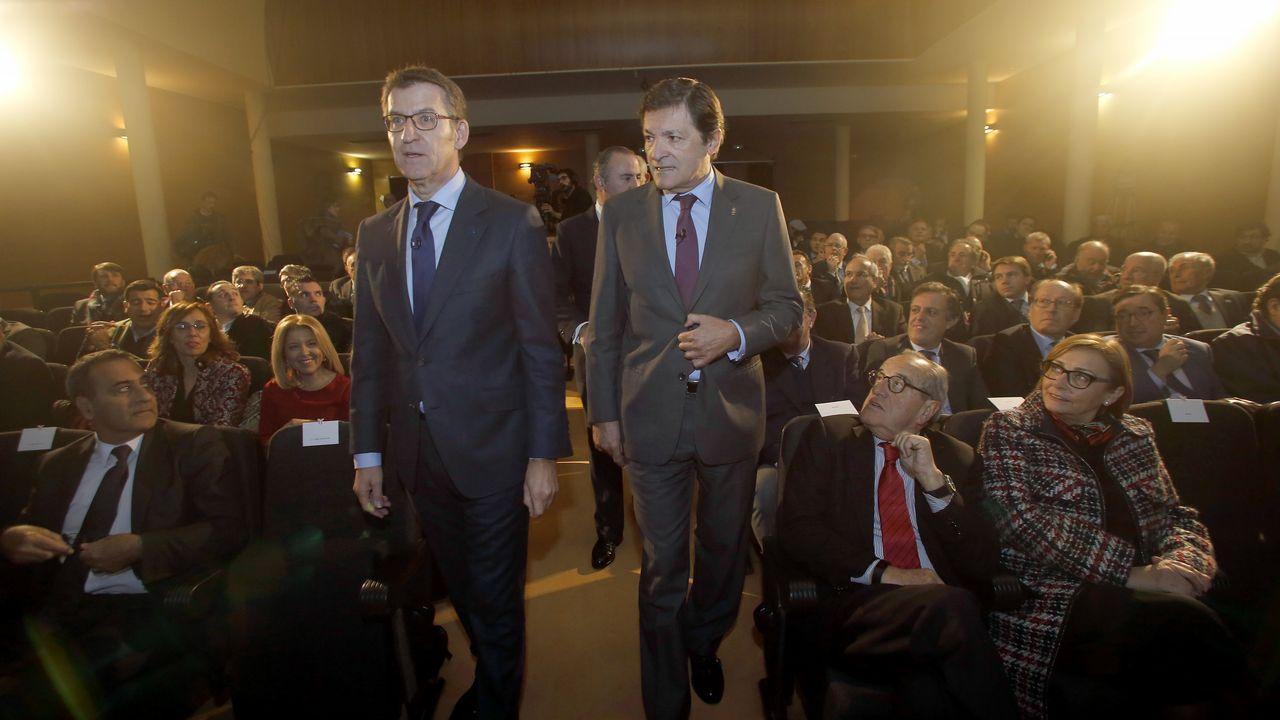 Galicia y Asturias piden más peso en España.Décimo de Lotería de Navidad