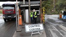 Control de trabajadores por el coronavirus en el acceso a ArcelorMittal