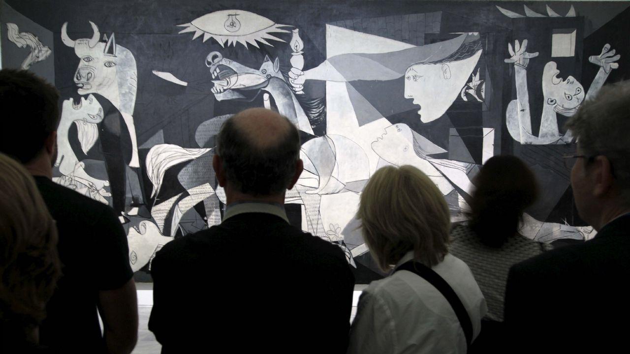 El Guernica, icónica obra de Picasso que puede verse en el Museo Reina Sofía