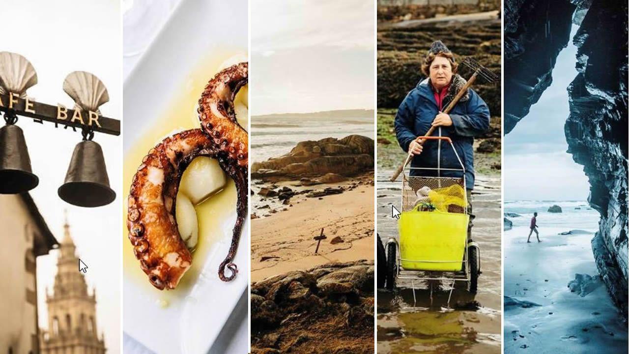 Composición con algunas de las imágenes que reproduce el diario noruego