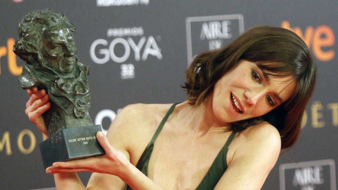 Bruna Cusi, premio a la mejor actriz revelación por «Verano 1993»