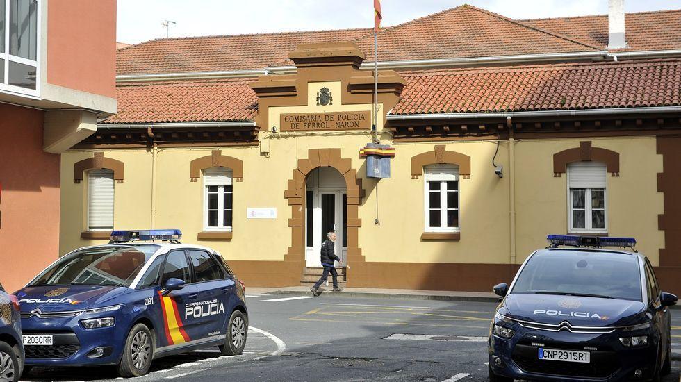 Detención de cuatro miembros de la banda latina de los Beta en Vigo, el pasado año