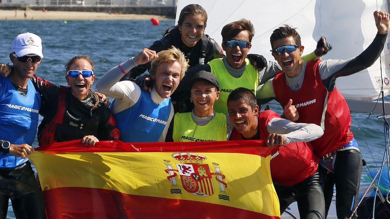 España reina en aguas de Arousa
