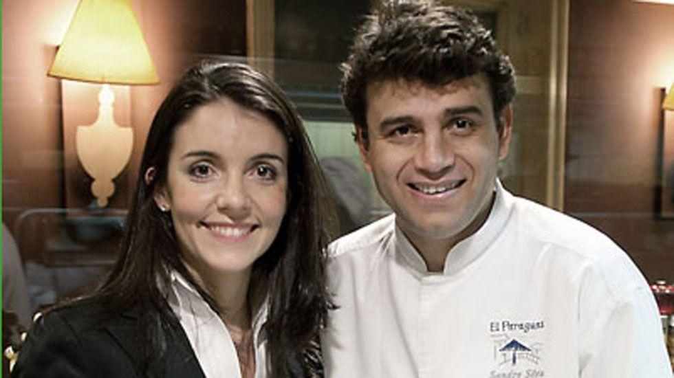 Marta Seco y Sandro Silva