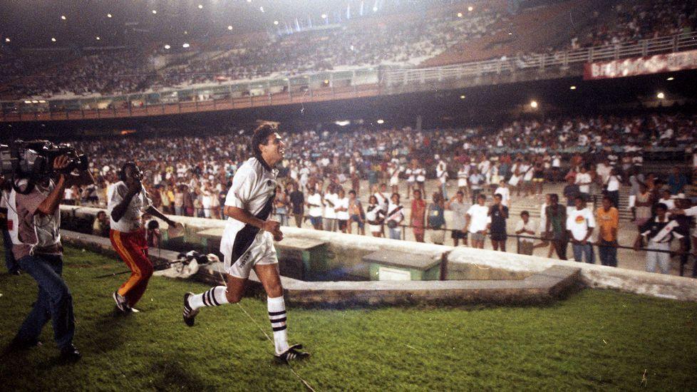 El homenajeado, Roberto Dinamite.