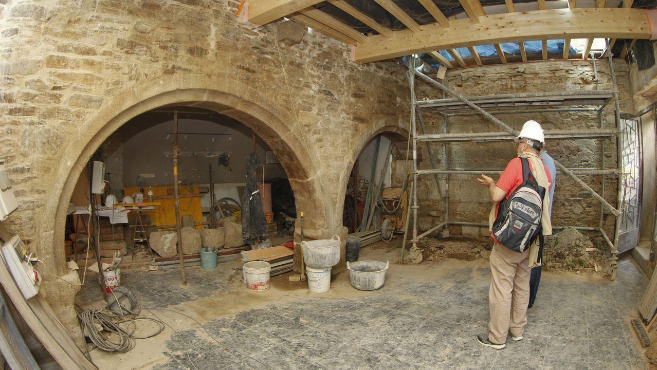 Obras en el entorno de la iglesia de Salomé que descubrieron un claustro gótico