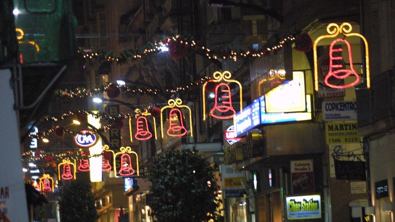 La calle de Príncipe en el año 2001