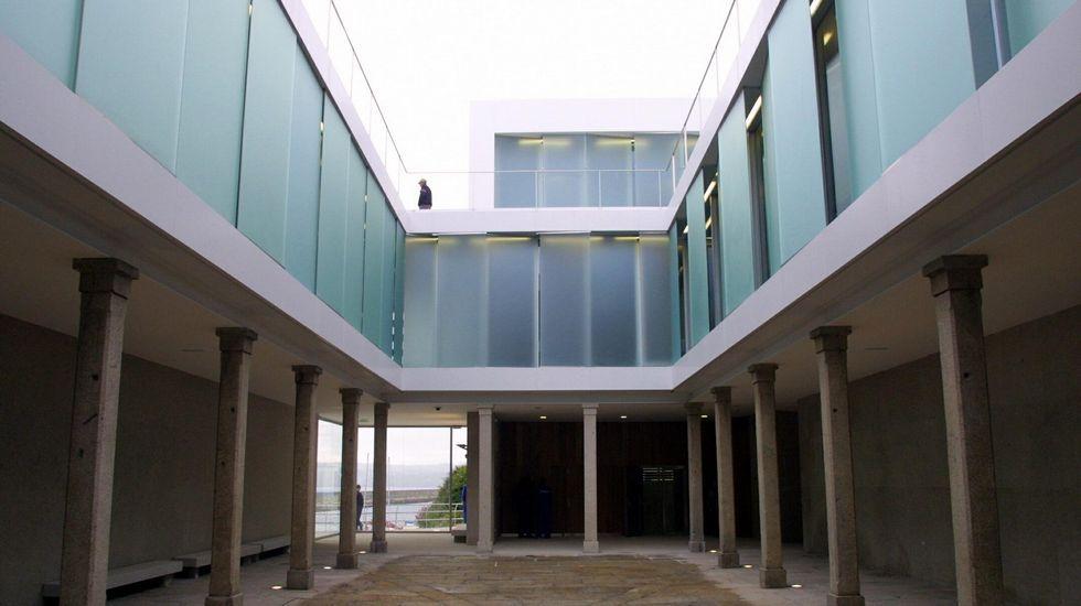 DESPUÉS. La Fundación Luis Seoane. El edificio de la Fundación Seoane en A Coruña ocupa el lugar dle cuartel de Macanaz y conserva algunos de sus elementos.