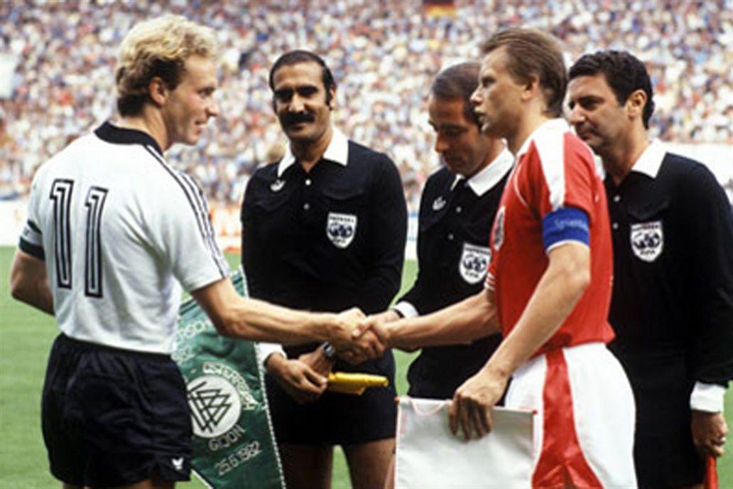 Alemania Federal - Austria. Mundial 82