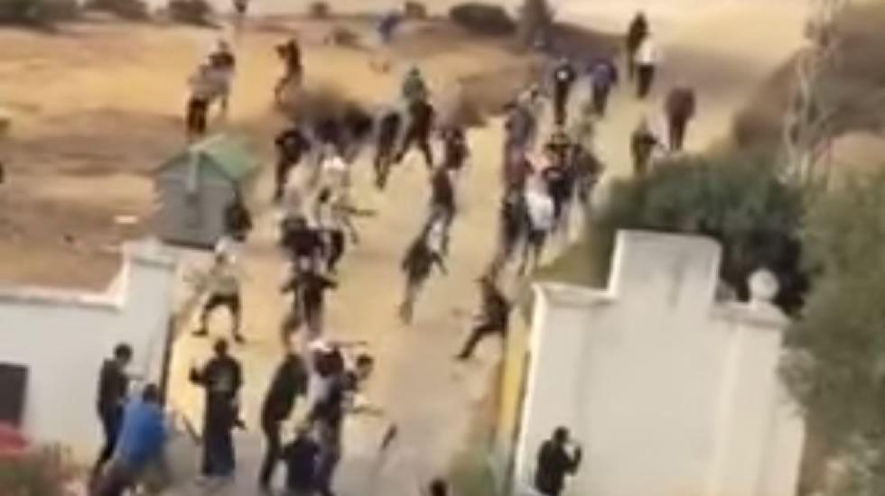 Batalla campal entre ultras del Cádiz y del Xerez.