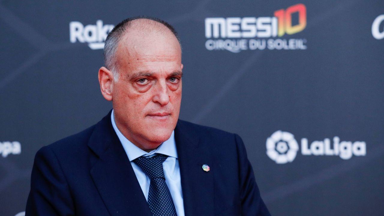 Javier Tebas se oponía a que el partido se aplazase hasta el 18 de diciembre porque coincide con la primera eliminatoria de Copa del Rey