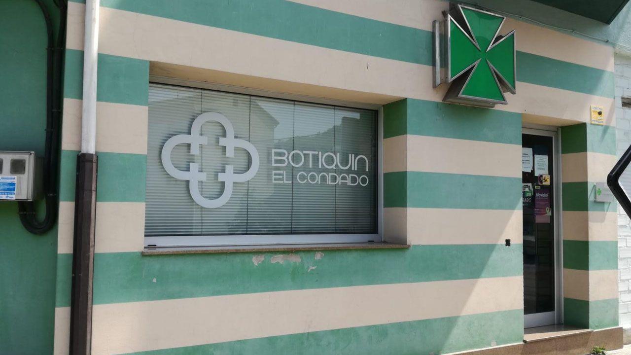 botiquines farmacia Asturias Laviana.Botiquín de El Condado