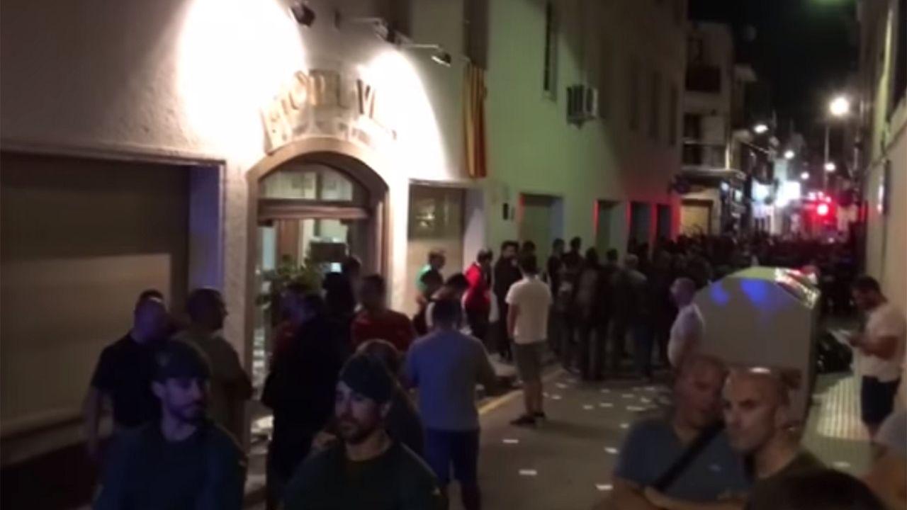Tensión en Calella