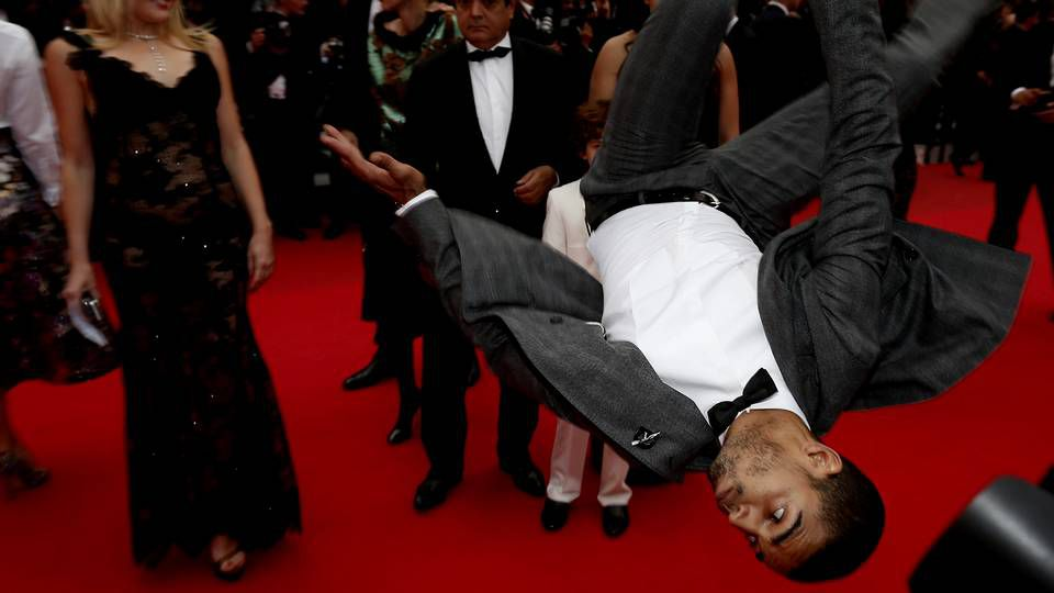 La fiesta continúa en Cannes.Considera que las infidelidades son cosas que pasan.