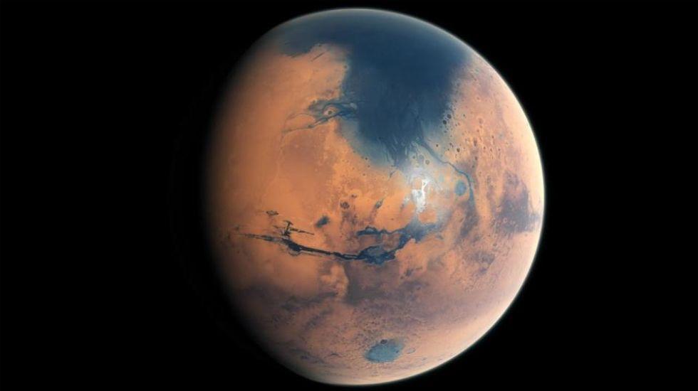 La NASA ya estudia el lugar para aterrizar en Marte.Titán, a lúa de Saturno compatible coa vida