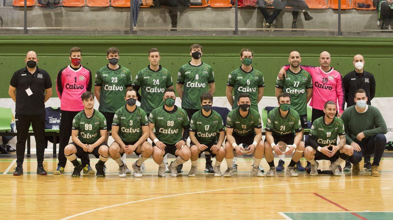 Plantilla y entrenador del Calvo Artai