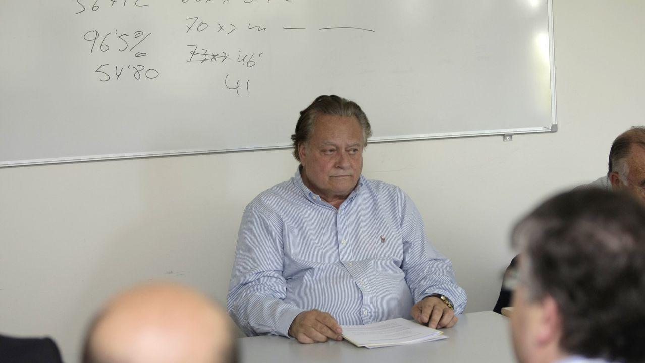 Fallece Ernesto Jarabo, uno de los fundadores de la fabrica de Tablicia en Nadela