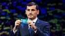 Iker Casillas, en el sorteo de la Eurocopa 2020