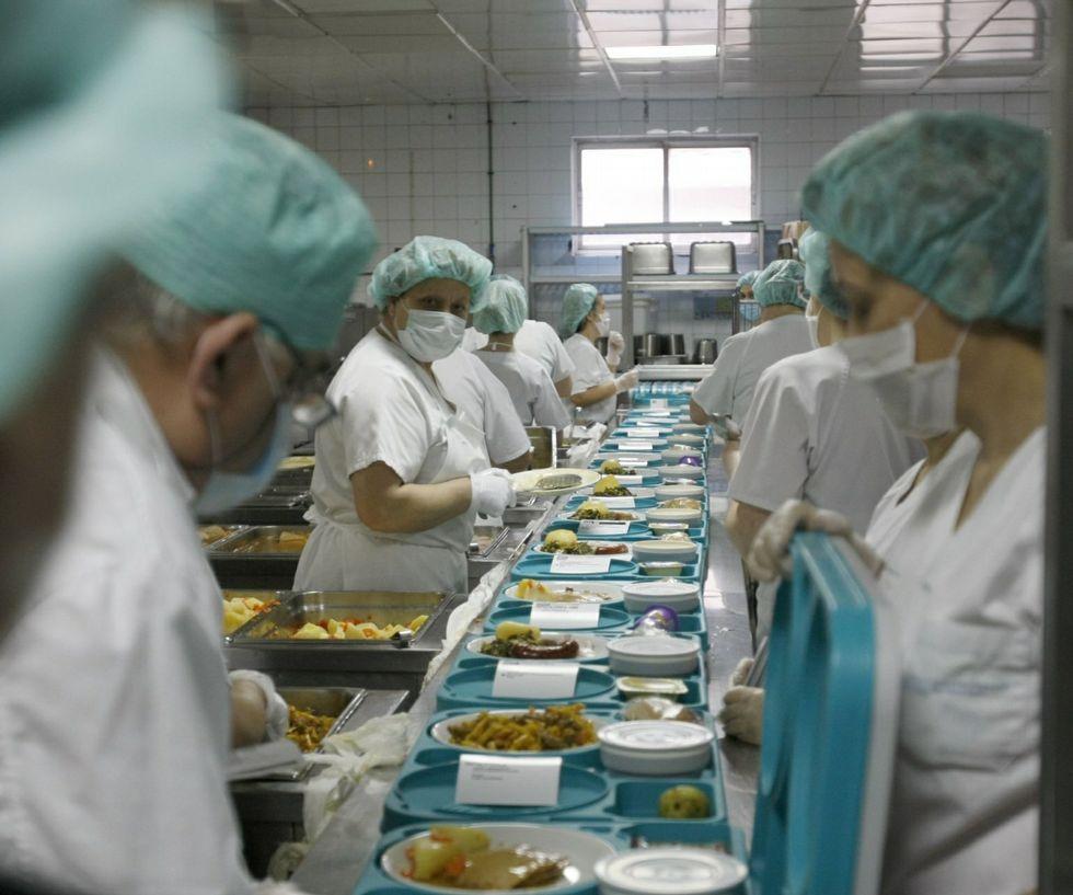 Una treintena de personas harán el menú del hospital.
