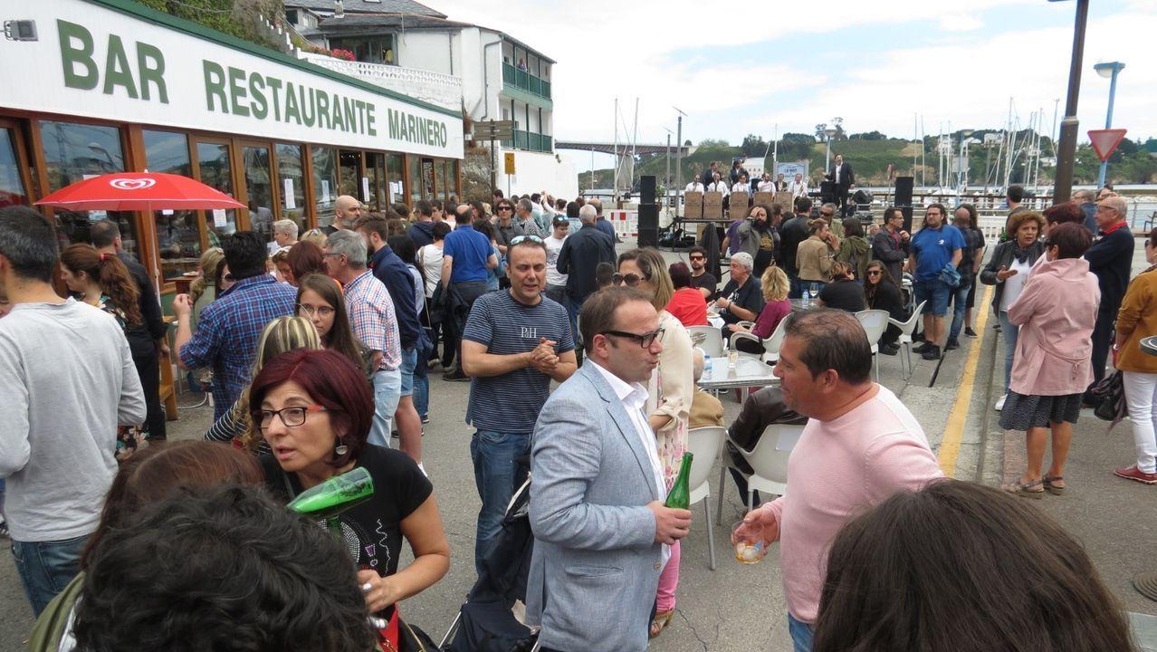 El Bar Restaurante Marinero, en la fiesta que organizó el el pasado verano para festejar su 40 aniversario
