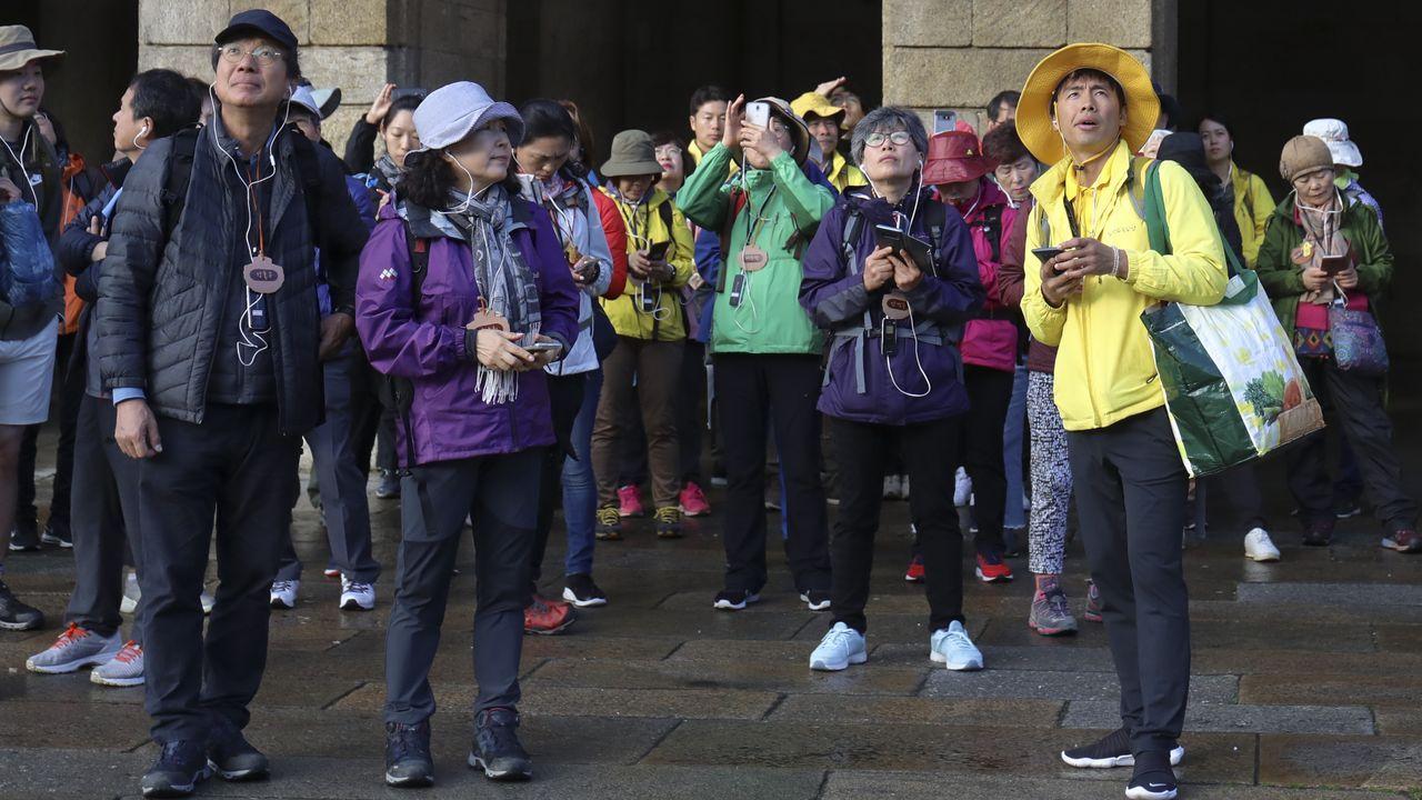 Así fue la Andaina Camiño ao Respecto en Compostela