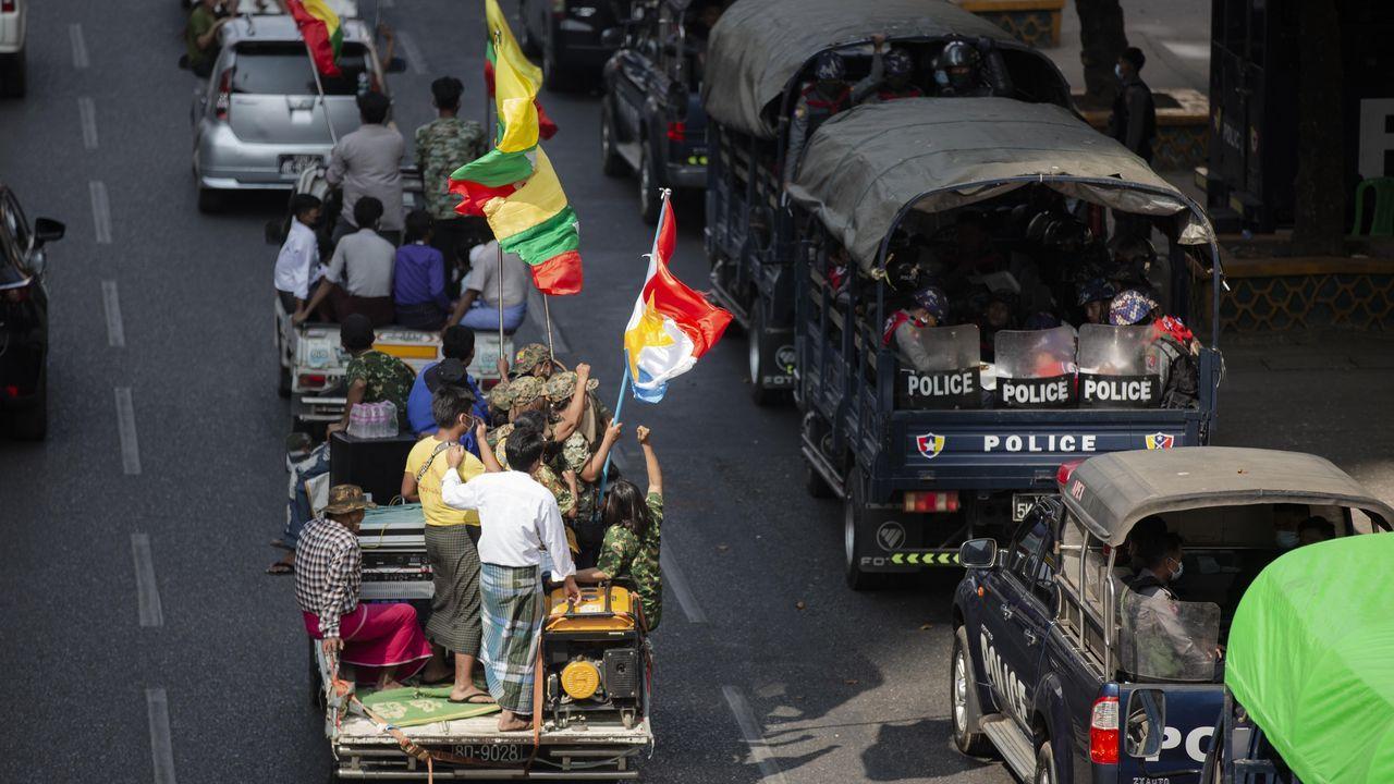 Un golpe de Estado acaba con el nuevo gobierno de Myanmar antes de empezar su legislatura.El ex primer ministro Gordon Brown
