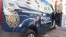 Furgón de la Policía Nacional