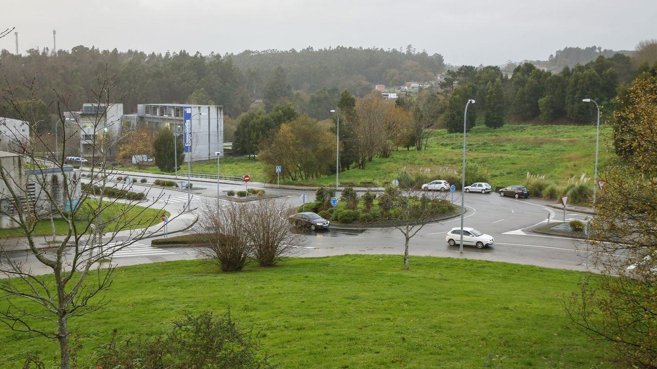 La USC proyecta la Cidade da Saúde frente al Hospital Clínico.El plan prevé demoler la actual Facultade de Farmacia