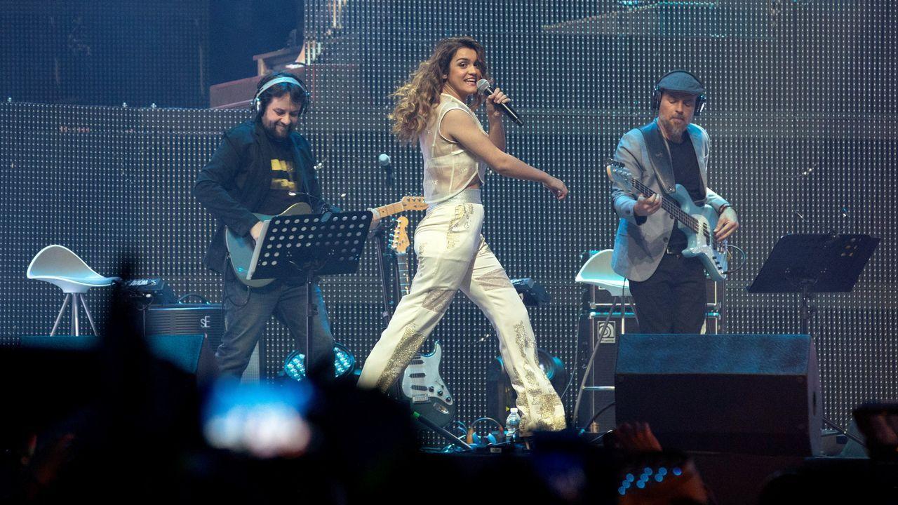El concierto de Amaia en A Coruña, en fotos.Amaia, sobre el escenario