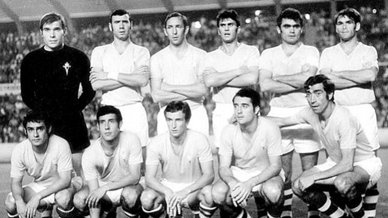 Primera participación europea frente al Aberdeen en 1971