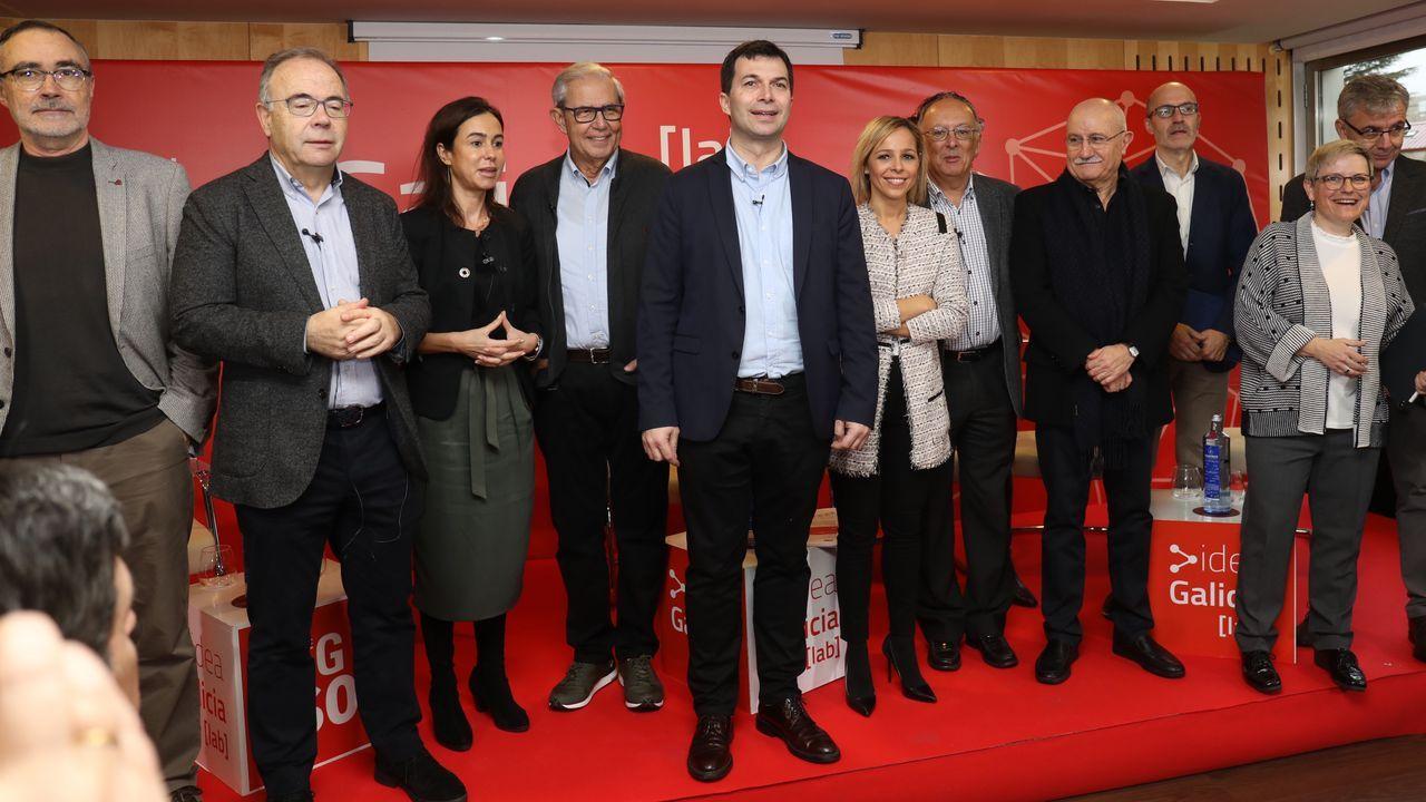 Los socialistas de la provincia de Lugo celebran la Navidad