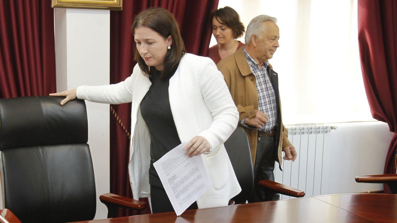 María Jesús Novo (derecha, en foto de archivo), se vacunó contra el covid a finales de diciembre