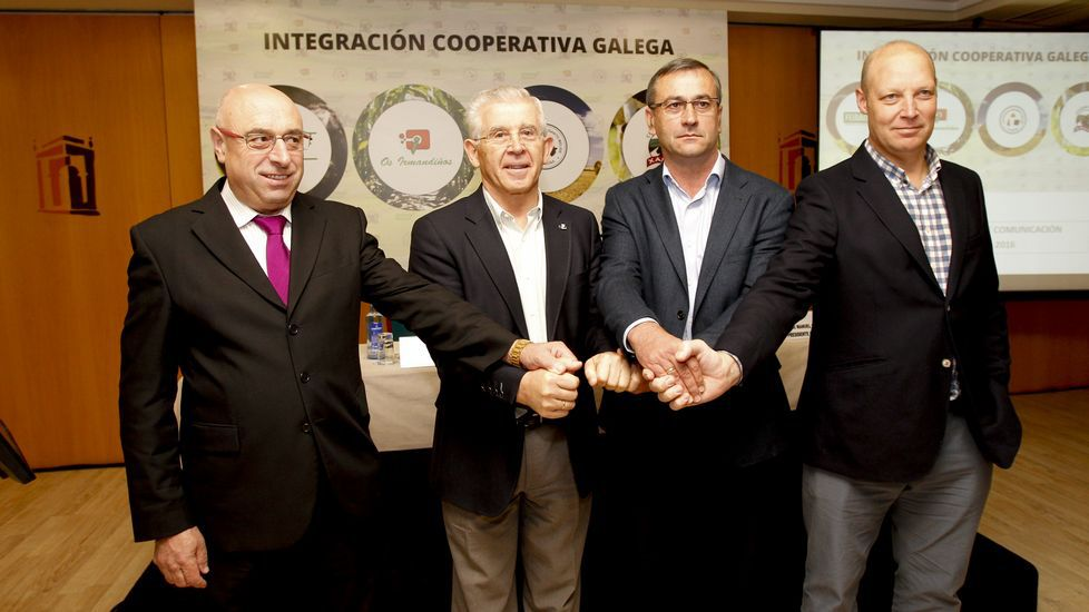 Feiraco, Os Irmandiños, Melisanto y Xallas unen sus fuerzas.José Luis Antuña, director general de Feiraco